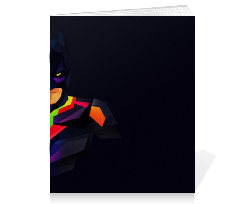 Тетрадь на скрепке Printio Бэтмен тетрадь на скрепке printio colorful