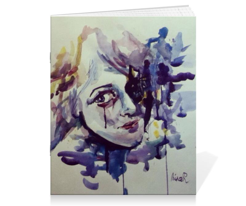 Тетрадь на скрепке Printio Акварель тетрадь на скрепке printio тетрадь пейзаж из серии акварель 2015