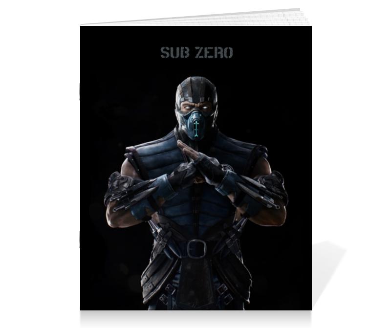 Printio Mortal kombat x (sub-zero) printio свитшот mortal kombat x sub zero