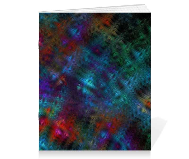 Тетрадь на скрепке Printio Абстрактный дизайн тетрадь на скрепке printio абстракция