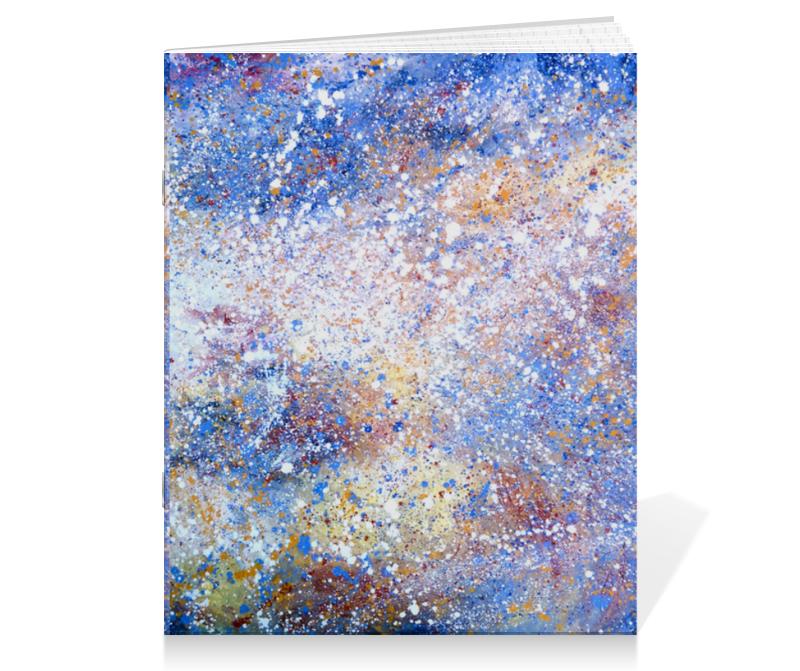 Тетрадь на скрепке Printio Магелланово облако 2 холст 30x60 printio магелланово облако 2