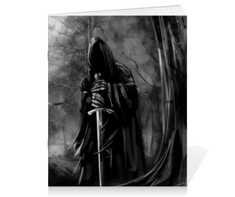 Тетрадь на скрепке Printio Смерть с мечом тетрадь на скрепке printio смерть и жизнь густав климт