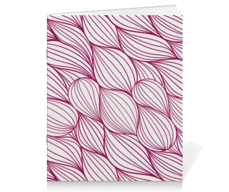 Тетрадь на скрепке Printio Абстрактная текстура тетрадь на скрепке printio абстрактная