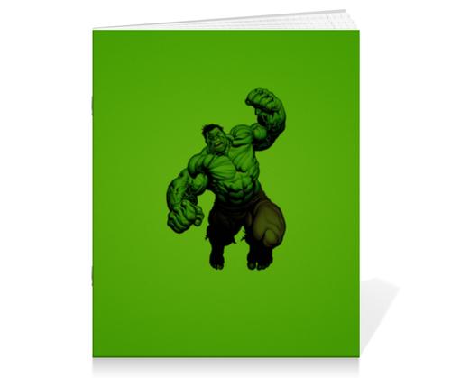 """Тетрадь на скрепке """"Халк (Hulk)"""" - комиксы, hulk, марвел, халк, брюс баннер"""
