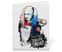 """Тетрадь на скрепке """"Отряд самоубийц """" - harley quinn, dc comics, харли квин, отряд самоубийц, suicide squad"""