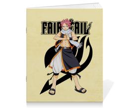 """Тетрадь на скрепке """"Fairy Tail. Нацу"""" - аниме, манга, fairy tail, хвост феи, нацу"""