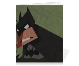 """Тетрадь на скрепке """"Бэтмен"""" - joker, batman, джокер, бэтмен, бэтс"""