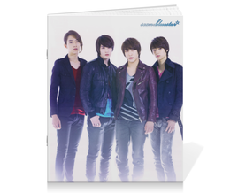 "Тетрадь на скрепке ""CNBlue"" - k-pop, корея, cnblue, корейский актер, корейская группа"