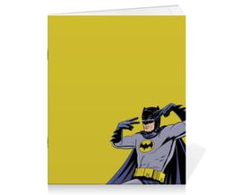 """Тетрадь на скрепке """"Бэтмен"""" - комиксы, batman, dc, dc comics"""