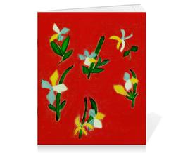 """Тетрадь на скрепке """"Весна, весна"""" - любовь, цветы, весна, счастье"""