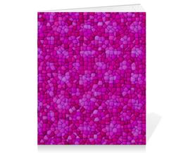"Тетрадь на скрепке ""purple"" - арт, узор, абстракция, текстура"