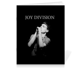 """Тетрадь на скрепке """"Иен Кёртис. Joy Division"""" - музыка, joy division, ian curtis, иэн кёртис, йен кёртис"""