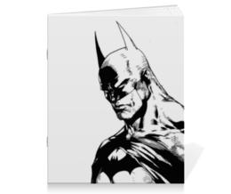 """Тетрадь на скрепке """"Бэтмен"""" - batman, бэтмен, dc, dc comics, брюс уэйн"""