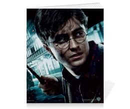 "Тетрадь на скрепке ""Гарри Поттер"" - гарри поттер, хогвартс"