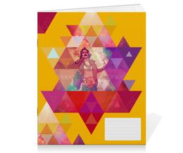"""Тетрадь на скрепке """"""""HIPSTA SWAG"""" collection: Salvador Dali"""" - сальвадор дали, swag, свэг, salvador dali, геомерия"""