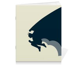 "Тетрадь на скрепке ""Superman vs Batman"" - бэтмен, супермэн, dc, dc comics"
