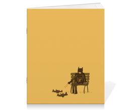"""Тетрадь на скрепке """"Бэтмен"""" - batman, бэтмен, dc comics, брюс уэйн, бэтс"""
