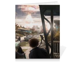"""Тетрадь на скрепке """"Fallout 4"""" - игры, взрыв, фоллаут, фоллыч"""