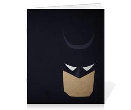 """Тетрадь на скрепке """"Бэтмен"""" - batman, бэтмен, dc, dc comics, бэтс"""