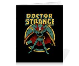 """Тетрадь на скрепке """"Доктор Стрэндж"""" - комиксы, супегерои, доктор стрэндж, doctor strange"""