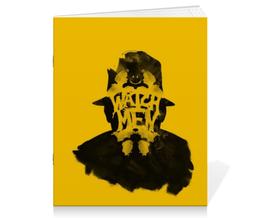 """Тетрадь на скрепке """"Роршах"""" - комиксы, rorschach, хранители, роршах, watchmen"""