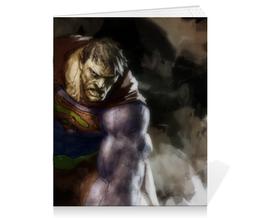 "Тетрадь на скрепке ""Бизарро"" - комиксы, superman, супермэн, dc comics, bizarro"