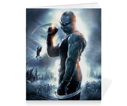 """Тетрадь на скрепке """"Риддик / Riddick"""" - рисунок, кино, риддик"""