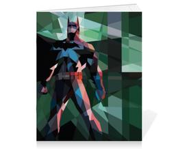 "Тетрадь на скрепке ""Бэтмен"" - batman, бэтмен, dc, dc comics, бэтси"