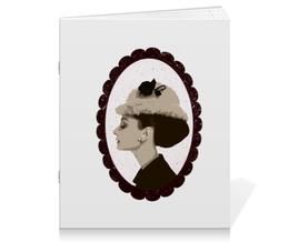 """Тетрадь на скрепке """"Audrey Hepburn"""" - audrey hepburn, одри хепбёрн"""