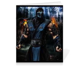 """Тетрадь на скрепке """"Mortal Kombat"""" - игры, mortal kombat, саб-зиро"""
