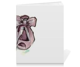 "Тетрадь на скрепке ""PaperFashion Rose"" - rose, рисунок, обувь, paperfashion, shoes"