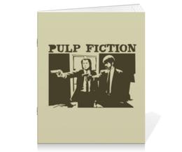 """Тетрадь на скрепке """"Pulp Fiction"""" - кино, фильм, тарантино, криминальное чтиво, pulp fiction"""