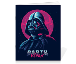 "Тетрадь на скрепке ""Дарт Вейдер (Darth Vader) "" - star wars, darth vader, звездные войны, дарт вейдер, стар варс"