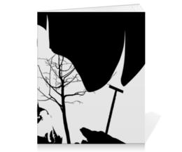"""Тетрадь на скрепке """"Бэтмен"""" - комиксы, batman, бэтмен, dc, dc comics"""