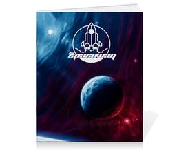 """Тетрадь на скрепке """"The Spaceway"""" - звезды, космос, вселенная, космический, thespaceway"""