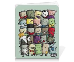 """Тетрадь на скрепке """"Маленькие Книжки"""" - книги, books, книжки, маленькие"""