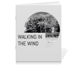 """Тетрадь на скрепке """"Walking In The Wind (One Direction MITAM Series)"""" - music, чб, one direction, lyrics, made in the am"""