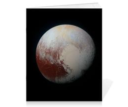 """Тетрадь на скрепке """"Плутон"""" - звезды, космос, вселенная, космический, thespaceway"""