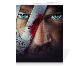 "Тетрадь на скрепке ""Vikings"" - викинг, викинги, vikings, viking, путь воина"