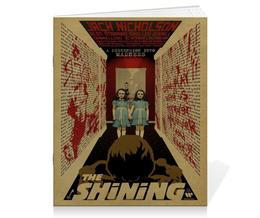 """Тетрадь на скрепке """"The Shining"""" - сияние, shining, кинг"""