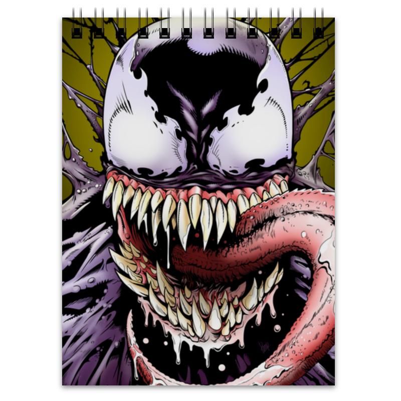 Блокнот Printio Веном (venom) плакат a3 29 7x42 printio venom веном