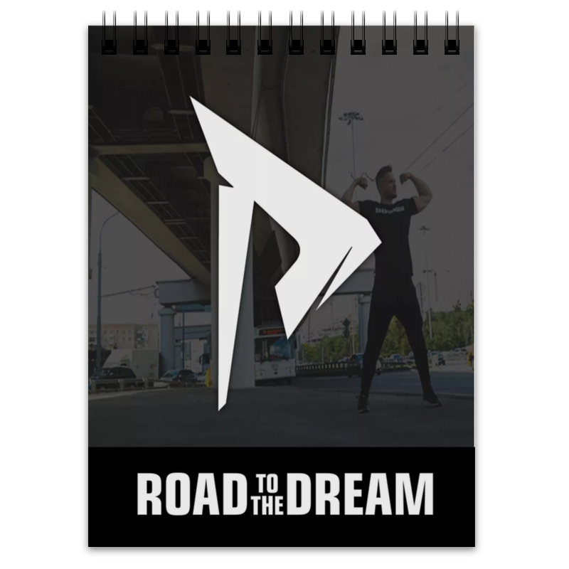 Printio Блокнот road to the dream muse the road to the top