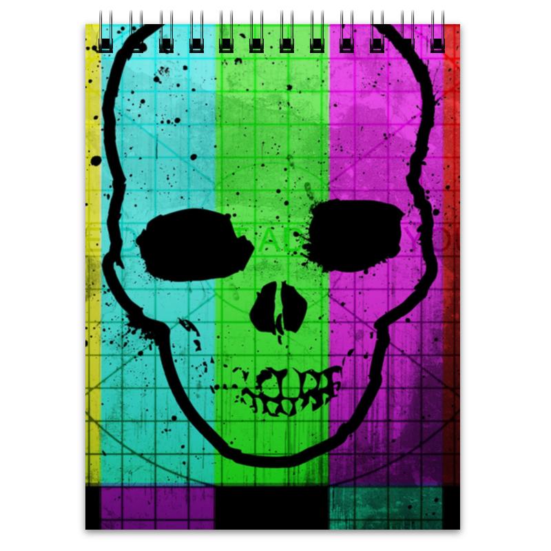 Блокнот Printio Smpte skull блокнот printio universe skull