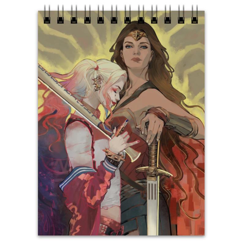 Printio Харли квинн и чудо-женщина чудо женщина книга 1 кровь и смерть