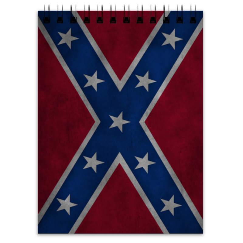 Блокнот Printio Флаг конфедерации сша блокнот printio блокнот ассирийский флаг