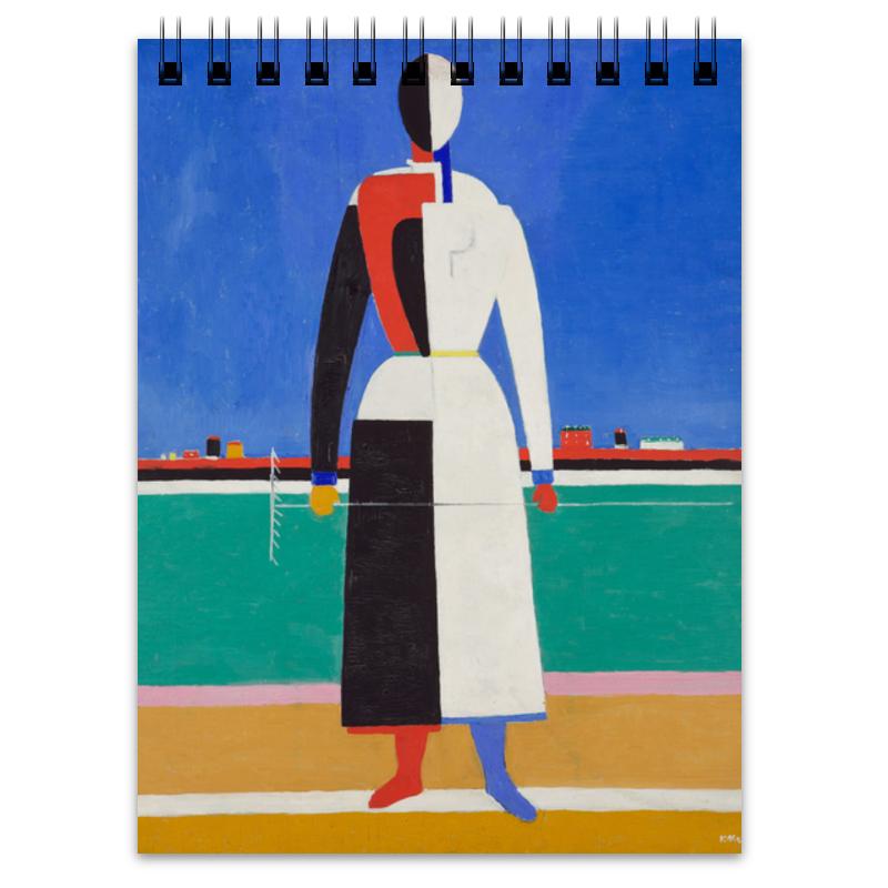 Фото - Printio Женщина с граблями (картина малевича) тетрадь малевич к с женщина с граблями а6 в точку