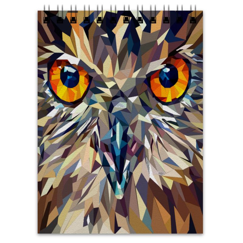 Блокнот Printio Fantastical owl блокнот printio сова