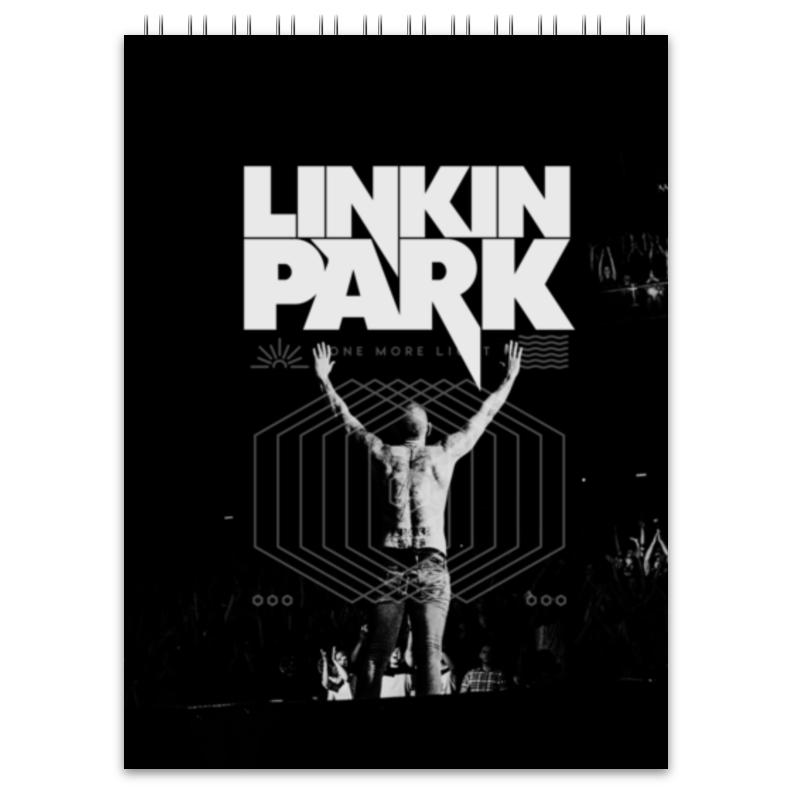 Блокнот Printio Linkin park mike86] mix b 207 20 30 b 207