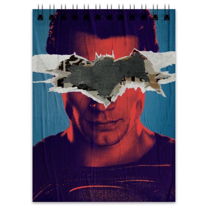 Блокнот Printio Бэтмен против супермена блокнот printio прогулки по городу