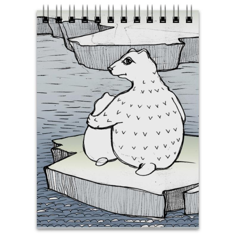 Блокнот Printio Умка на льдине умка обучающий планшет winx club 60 программ умка